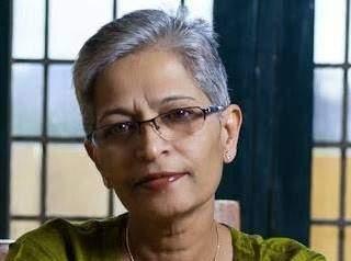 Gauri Lankesh.
