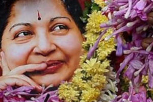 The late Jayalalithaa. Credit: PTI