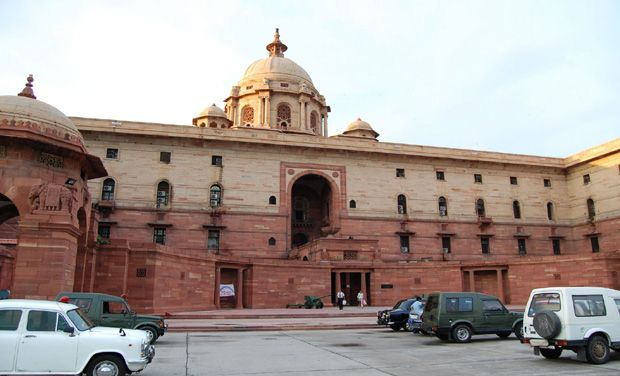 North Block in New Delhi. Credit: PTI