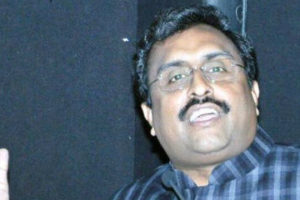 BJP general secretary, Ram Madhav. Credit: PTI