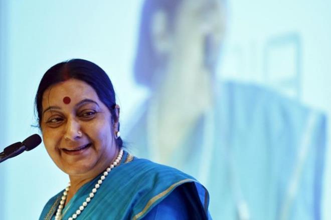 External Affairs Minister Sushma Swaraj. Credit: Reuters
