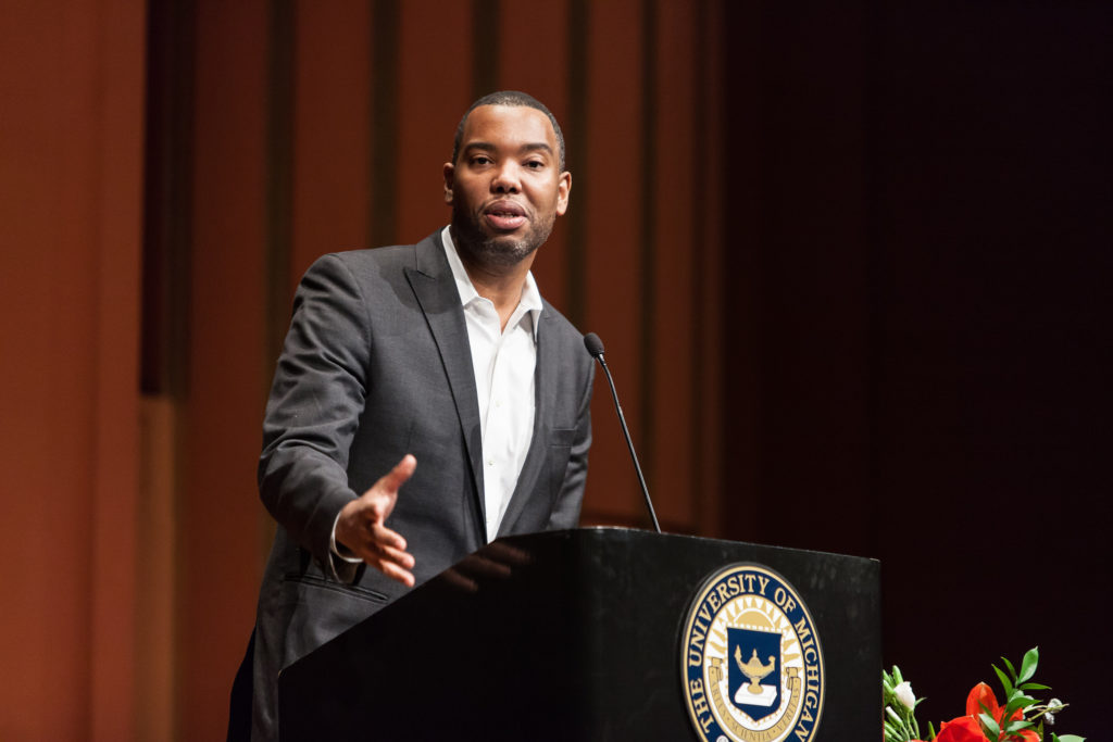 Ta-Nehisi Coates. Credit: Gerard R. Ford School of Public Policy, University of Michigan/Flickr, CC BY-ND 2.0