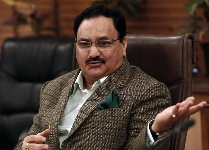 Health Minister J.P. Nadda had previously maintained that there were no funding issues for the healthcare sector. Credit: Reuters
