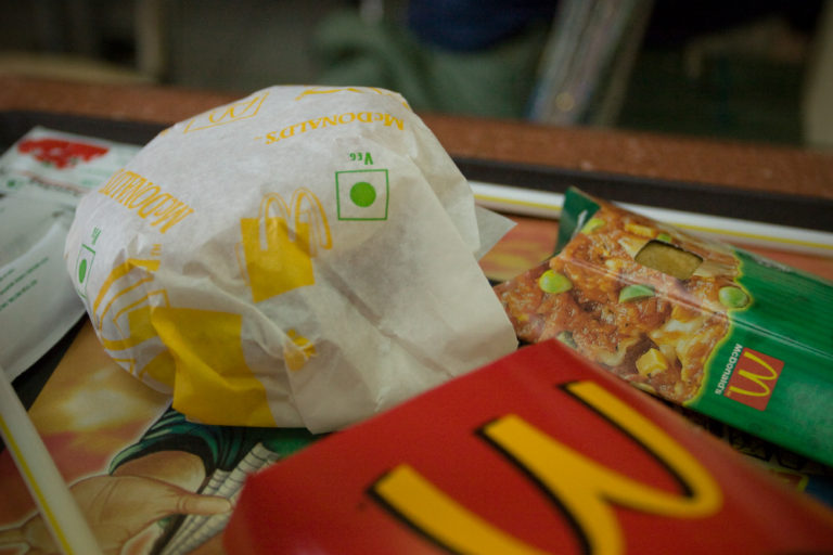 McDonald's in India. Credit: Owen Lin/Flickr, CC BY-NC-ND 2.0