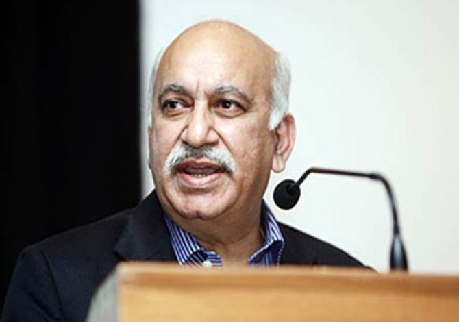 File photo of M.J. Akbar. Credit: PTI