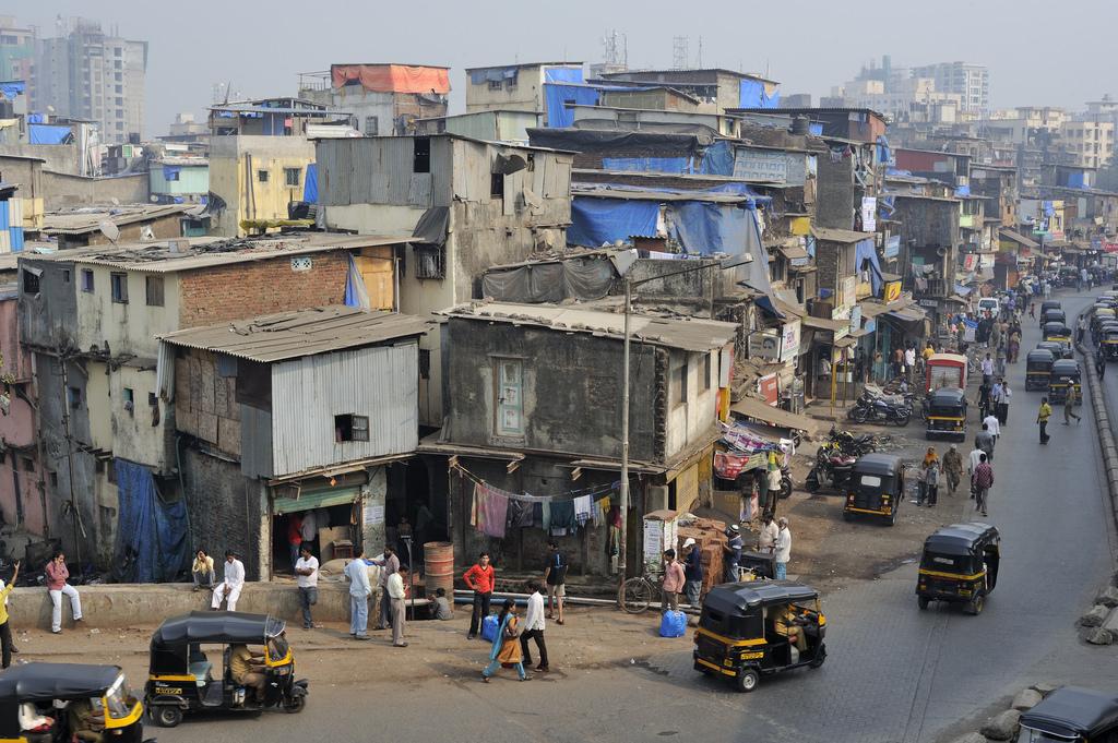 Dharavi, Mumbai. Credit: M M/Flickr CC BY-SA 2.0