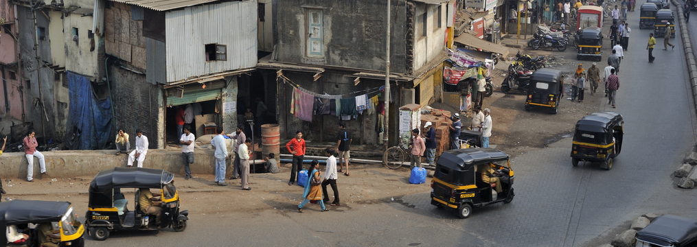 Dharavi, Mumbai. Credit: M M/Flickr CC BY-SA 2.0