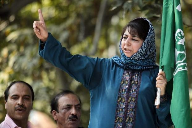 Chief Minister Mehbooba Mufti announced on January 16 that demonetisation had no effect on the unrest in Kashmir. Credit: Reuters/Files