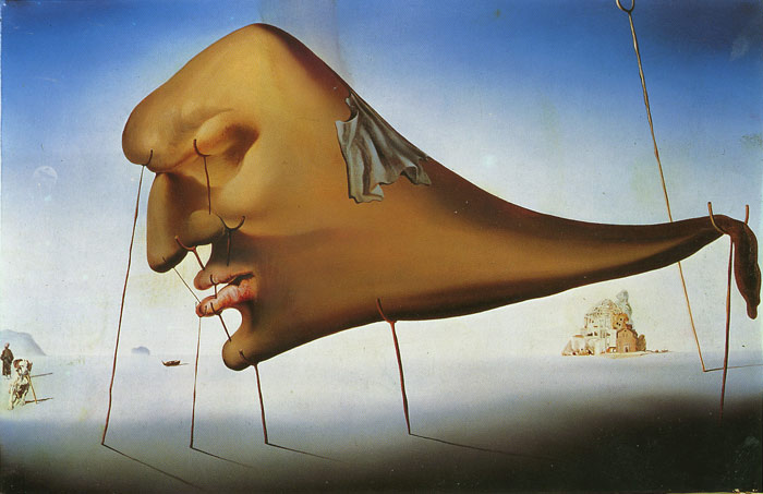 Sleep by Salvador Dali. Credit: Gaspar Torres/ Flickr, CC BY 2.0