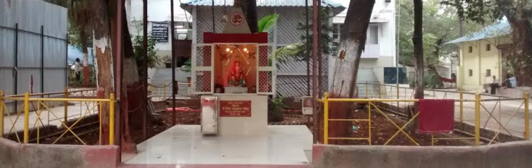 Ganpati temple within the premises of the Juvenile Justice Board and CWC, Mumbai. Credit: Arya Raje