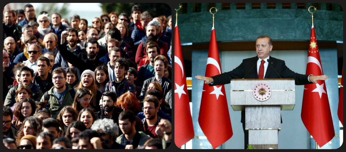 Steady Progress Into Fascism? Turkey, a Year After the Peace Petition