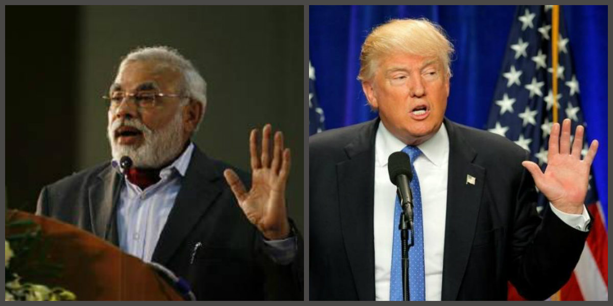 Prime Minister Narendra Modi and US President Donald Trump. Credit: Reuters