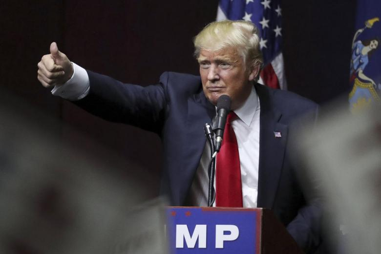 US President-elect Donald Trump. Credit: Reuters/Carlo Allegri