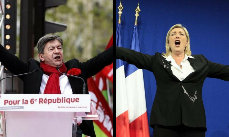 french presidential election jean melenchon left populism