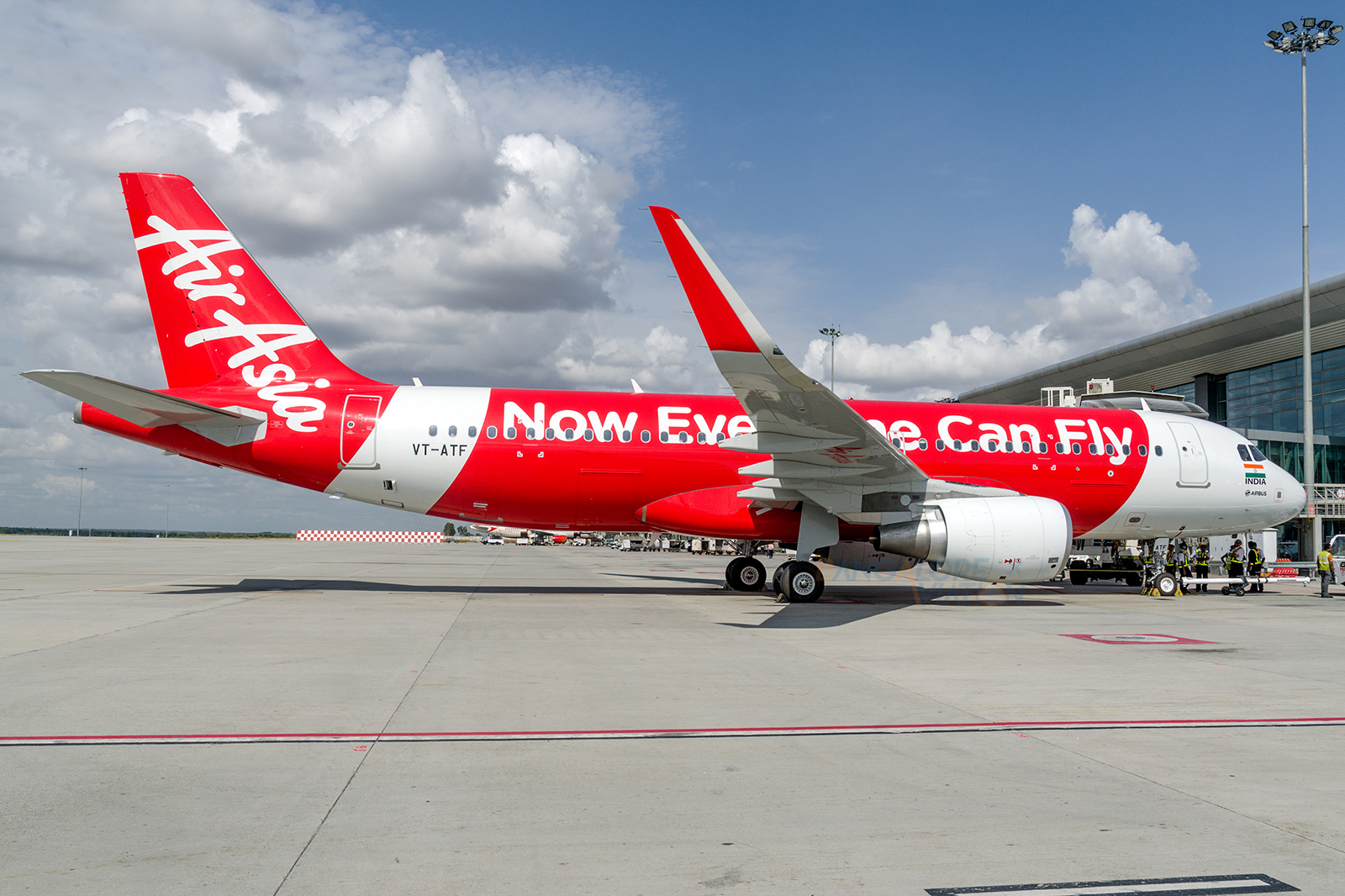 File photo of the first flight of AirAsia India.