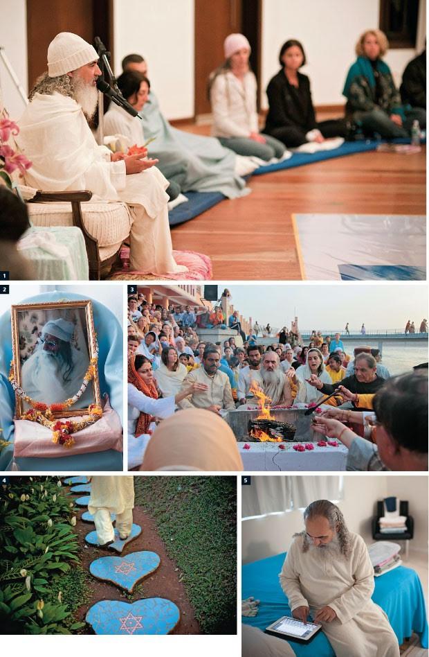 Prem Baba has built a veritable empire of Indian spiritualism. Credit: R. Vishwanathan.