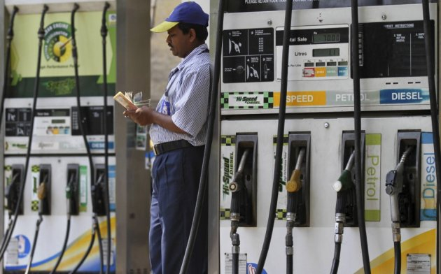 Indian fuel station. Credit: Reuters/File photo