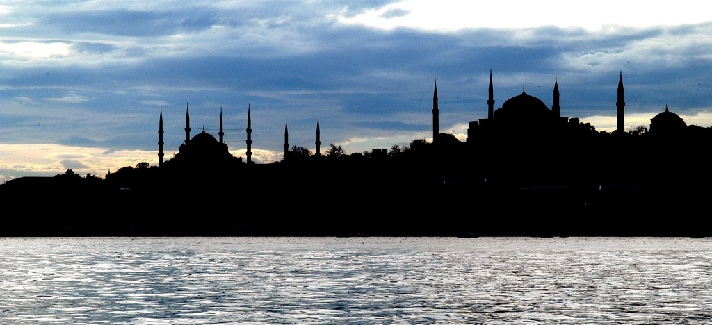 Silhouette of Istanbul. Credit: Wikimedia Commons