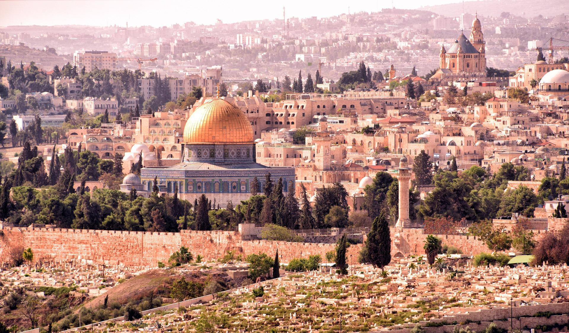 Jerusalem. Credit: Pixabay