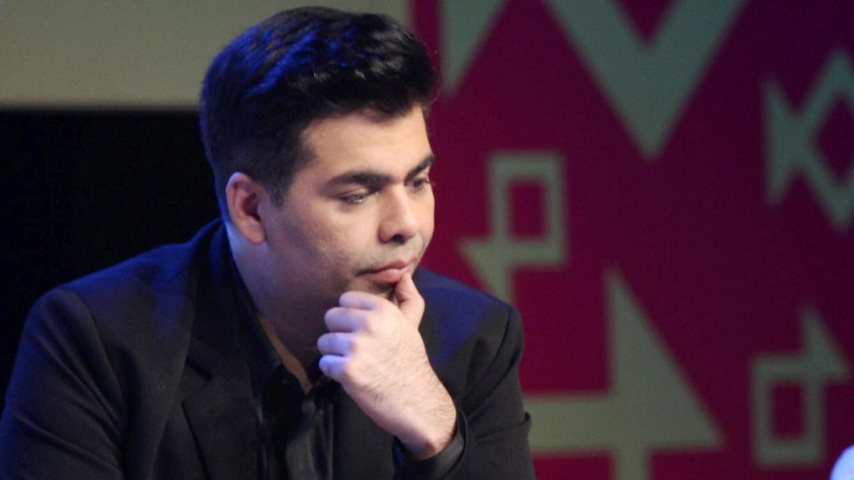 Karan Johar. Credit: PTI/File photo
