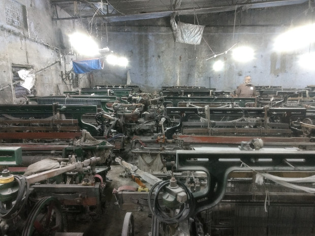 Power looms in Bhiwandi, Maharashtra, that have not been operational for six months now. Courtesy: IndiaSpend