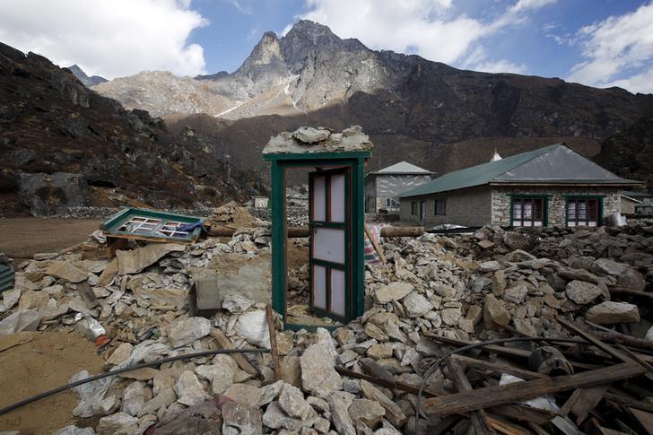 Nepal earthquake reconstruction work has hit a lag. Credit:Reuters/Navesh Chitrakar