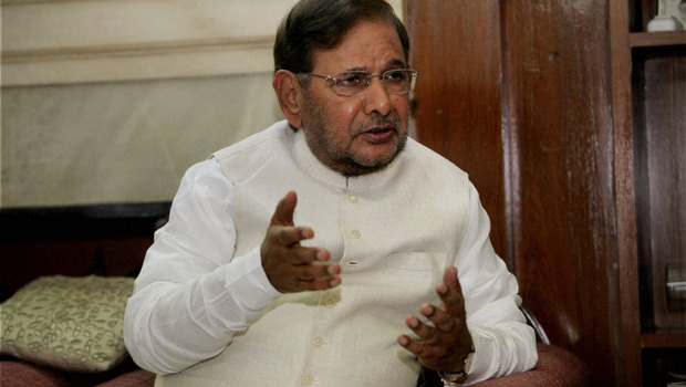 Sharad Yadav. Credit: PTI/File Photo