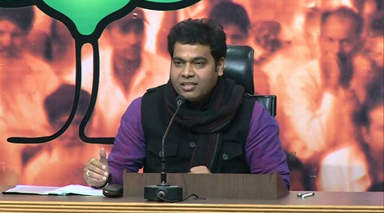 Shrikant Sharma is being touted as the BJP's chief ministerial candidate but many in the party are unhappy with this possibility. Credit: YouTube
