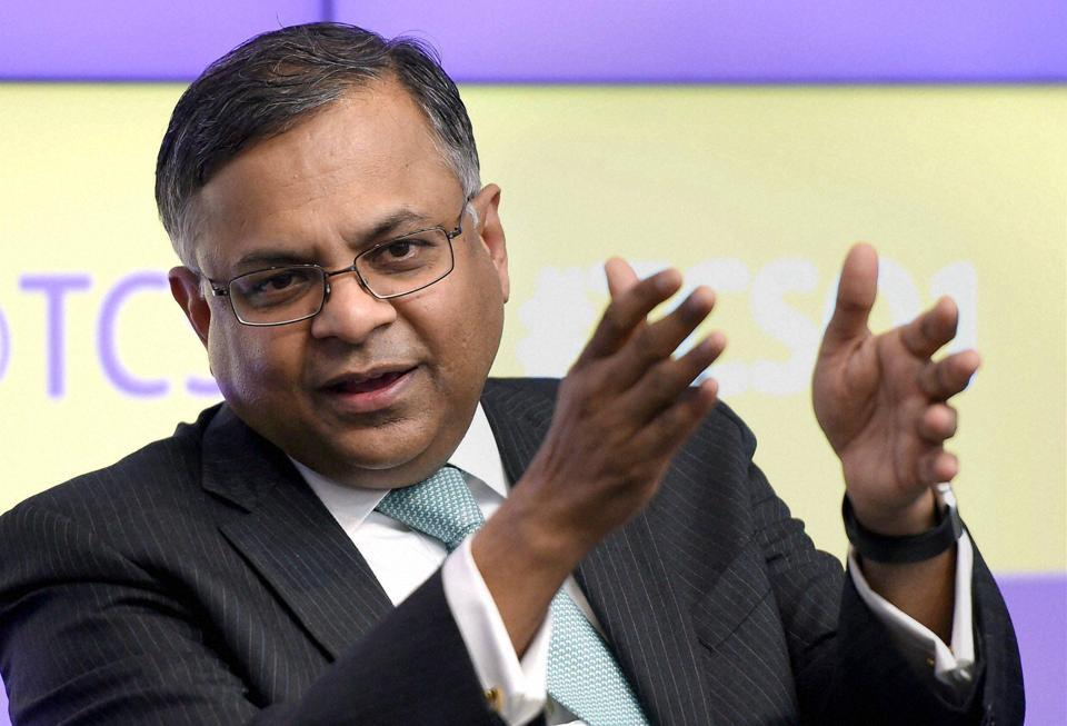 TCS Chief Natarajan Chandrasekaran Appointed New Tata Sons