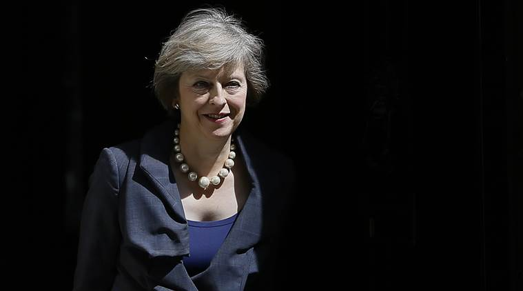 Britain's Home Secretary Theresa May leaves after attending a cabinet meeting at 10 Downing Street, in London, Tuesday, July 12, 2016. Theresa May will become Britain's new Prime Minister on Wednesday. (AP Photo/Kirsty Wigglesworth)