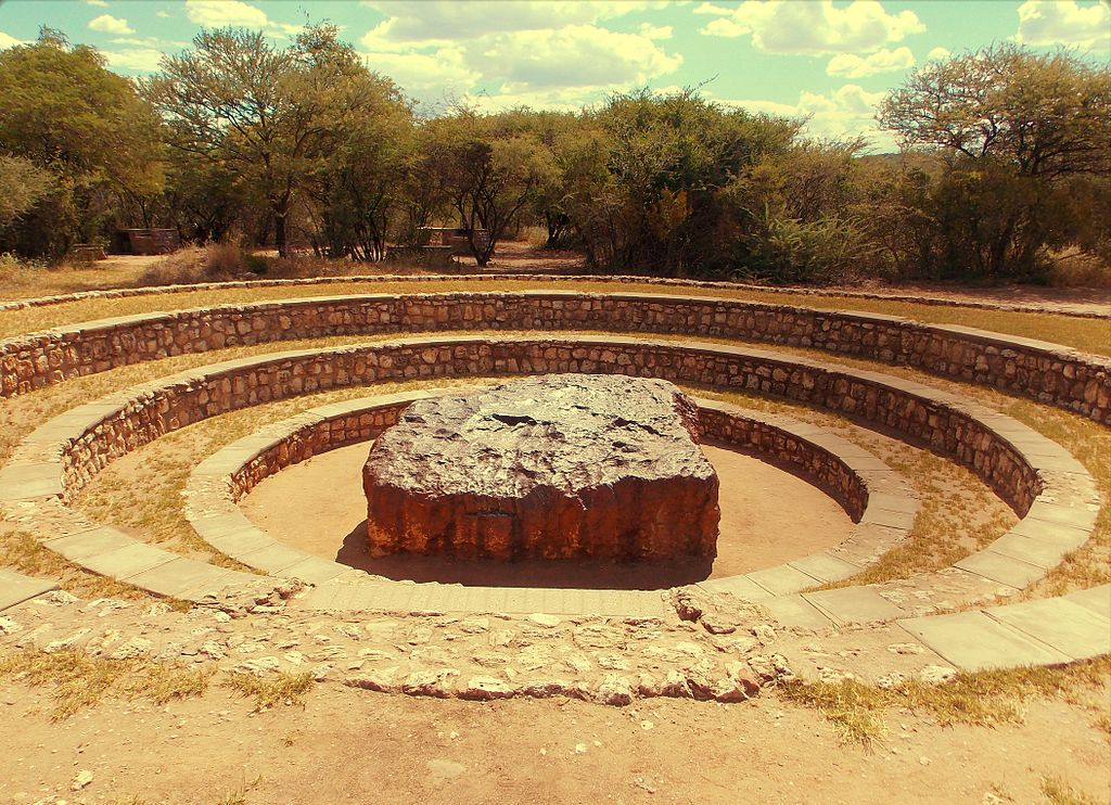 The Hoba meteorite. Credit: Eugen Zibiso/Wikimedia Commons, CC BY 2.0