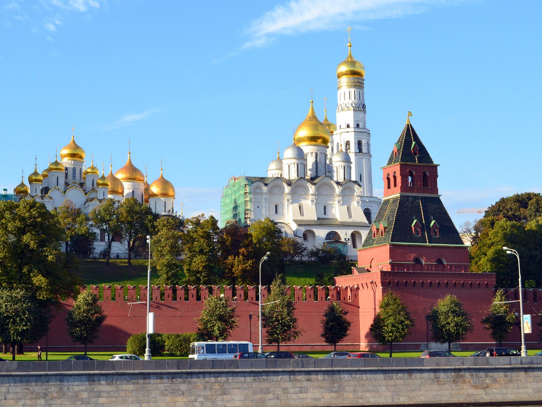 Kremlin. Credit: Larry Koester/Flickr, CC BY 2.0
