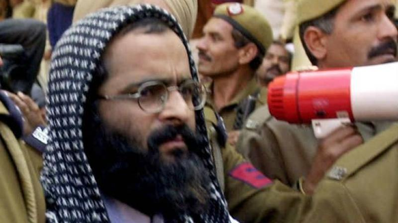 Afzal Guru. Credit: PTI/Files