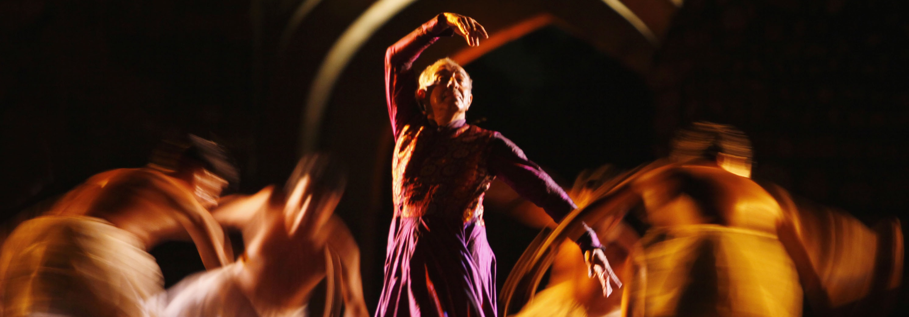 Astad Deboo presenting 'Rhythm Divine – River Runs Deep' at the Ananya festival in New Delhi. Credit: Special arrangement