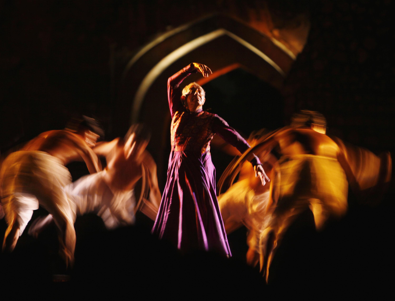 Astad Deboo presenting 'Rhythm Divine – River Runs Deep' at the Ananya festival in New Delhi. Credit: Special arrangement