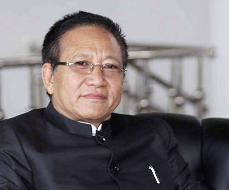 Amidst widespread protests, T.R. Zeliang resigns as Nagaland's chief minister.