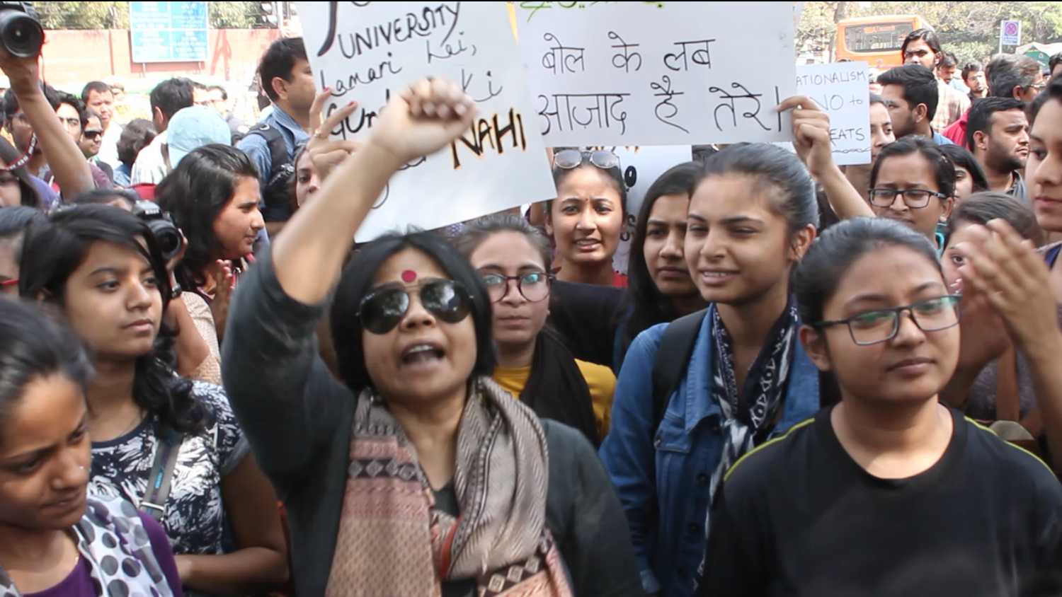 Watch: Delhi University Marches to Stand Its Ground