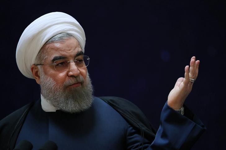 Iran's President Hassan Rouhani. Credit: Reuters