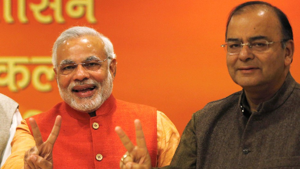 File photo of Prime Minister Narendra Modi and finance minister Arun Jaitley. Credit: Reuters