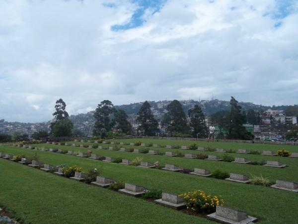 The Second World War cemetery in Kohima. Credit: Sangeeta Barooah Pisharoty