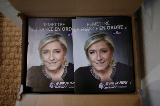 Polls Show Le Pen Winning Election's First Round, Losing Knockout