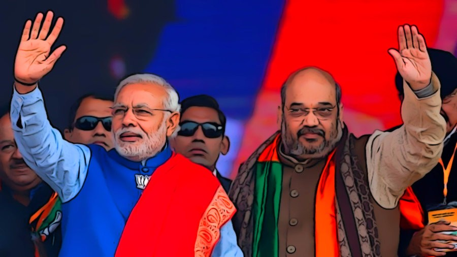 Prime Minister Narendra Modi and BJP chief Amit Shah. Credit: Reuters/Files
