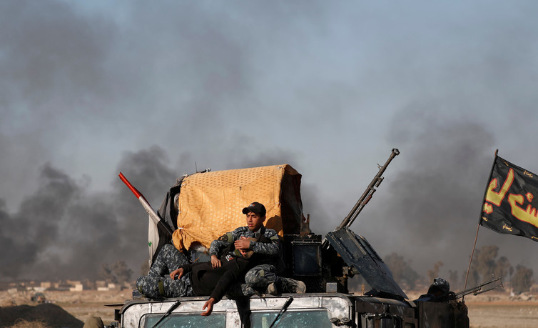 It's taken nearly two years for Iraqi forces to get close to recapturing Mosul. Credit: Reuters