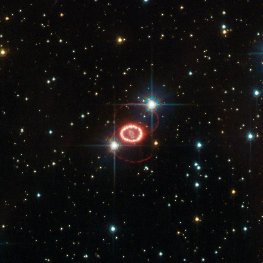 SN 1987A in 2011. Credit: ESA/Hubble & NASA