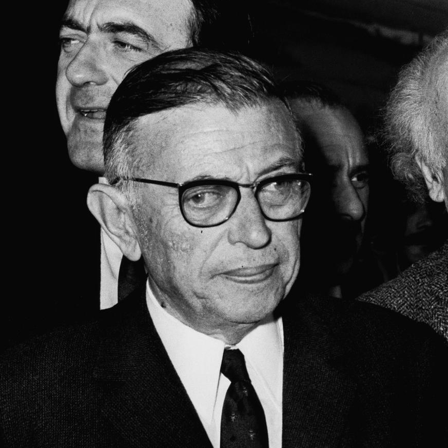 Jean-Paul Sartre, the intellectual engagé. Credit: Wikimedia Commons