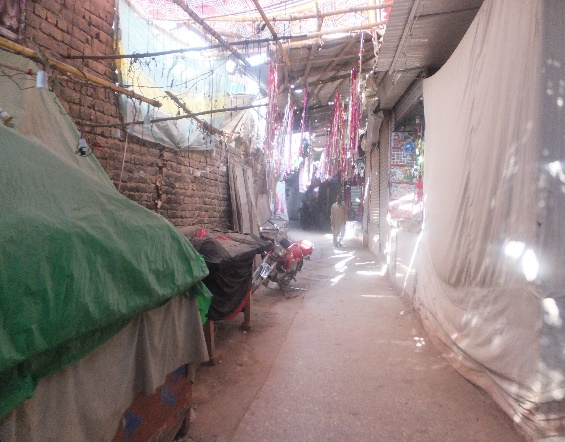 Sehwan market. Credit: Veengas