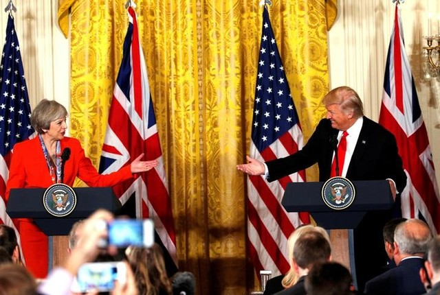 Theresa May Faces Criticism For 'Special Relationship' Bid With US