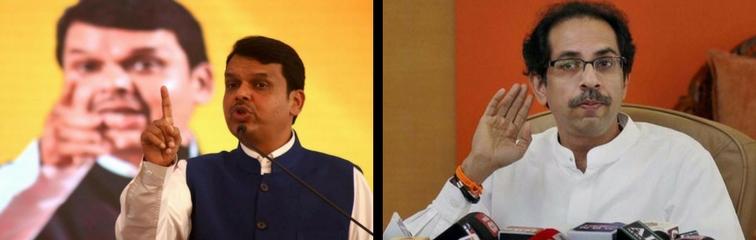 Devendra Fadnavis and Uddhav Thackeray. Credit: PTI