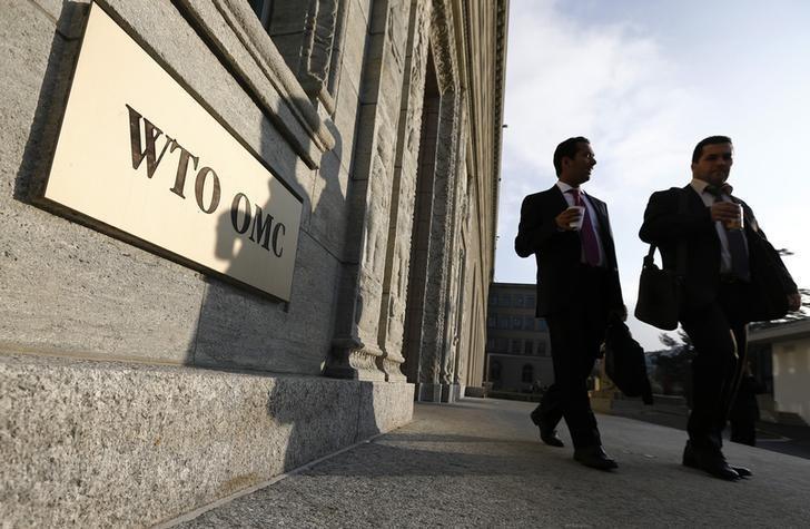 The WTO headquarters in Geneva. Credit: Reuters/Denis Balibouse/Files
