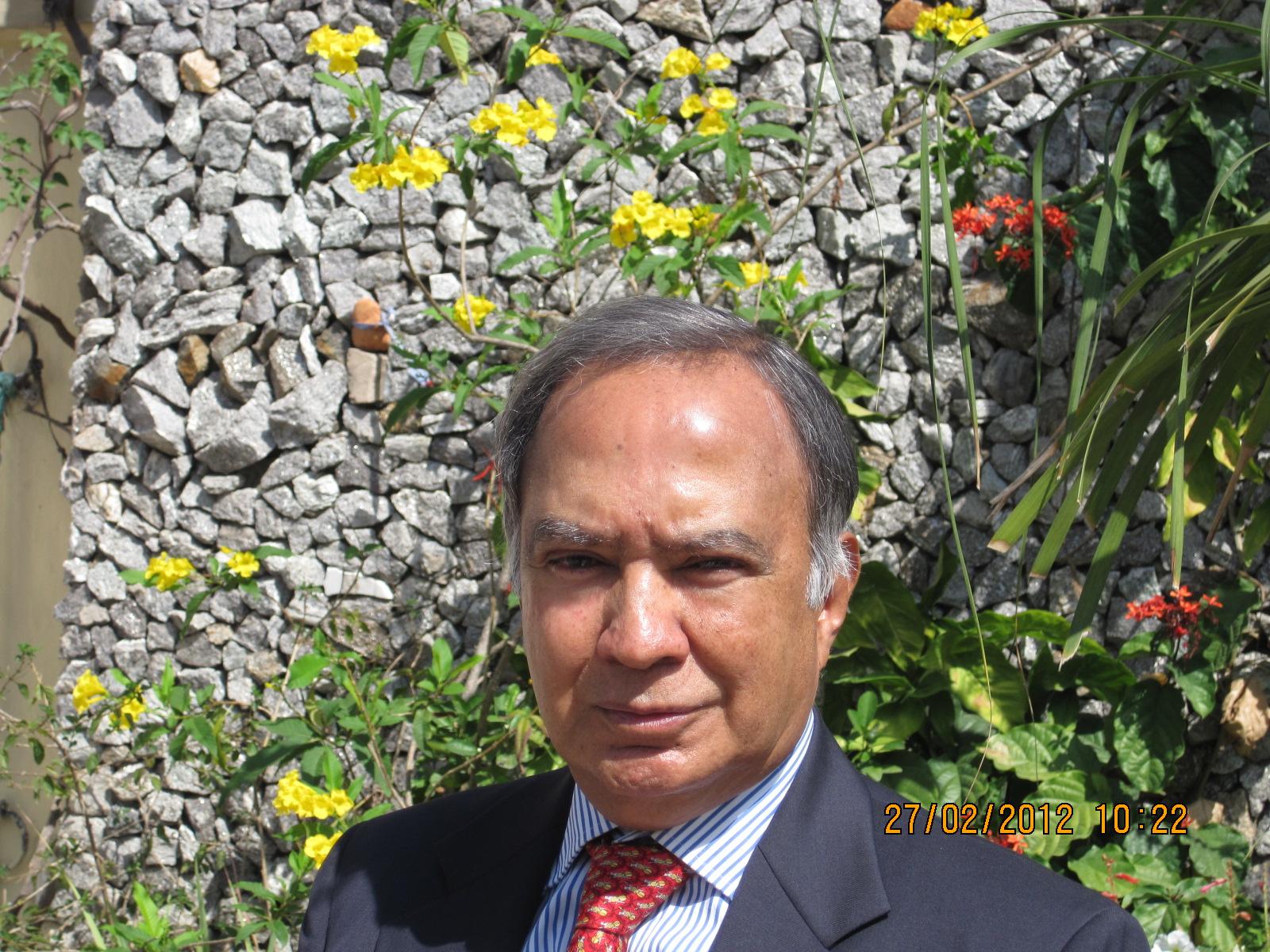 Krishnan Srinivasan. Credit: Wikimedia Commons